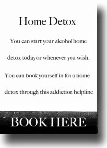alcohol rehabilitation home detox